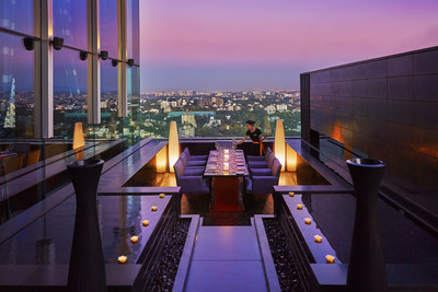 The iconic rooftop lounge and restaurant, Paasha