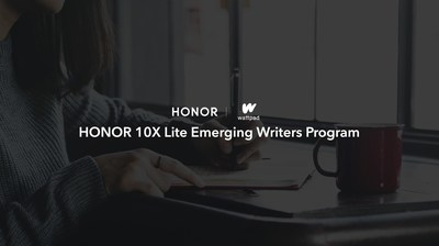HONOR teamed up with Wattpad to launch the Emerging Writers Program