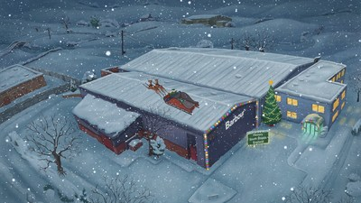 """Barbour Launches new Christmas campaign titled """"Father Christmas to the Rescue"""""""