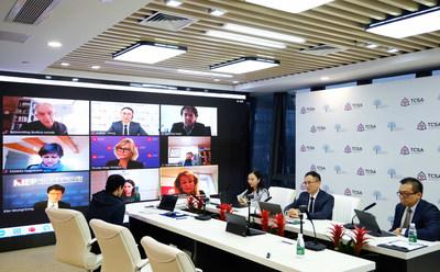 TCSA fue invitada oficialmente a la conferencia global en línea Dialogue of Continents