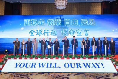 TCSA lidera a 20 diferentes países en una declaración mundial de acción (PRNewsfoto/TCSA)