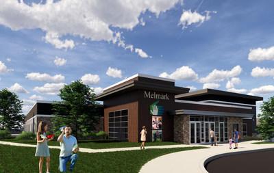 Artist rendering of the new Melmark School building in Berwyn, PA