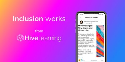 Inclusion works from Hive learning (CNW Group/Sun Life Financial Inc.)