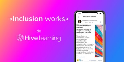 Inclulsion works de Hive learning (Groupe CNW/Sun Life Financial Inc.)
