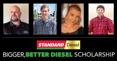 """标准汽车产品公司宣布其Standard®""""更大,更好的柴油""""奖学金获得者"""