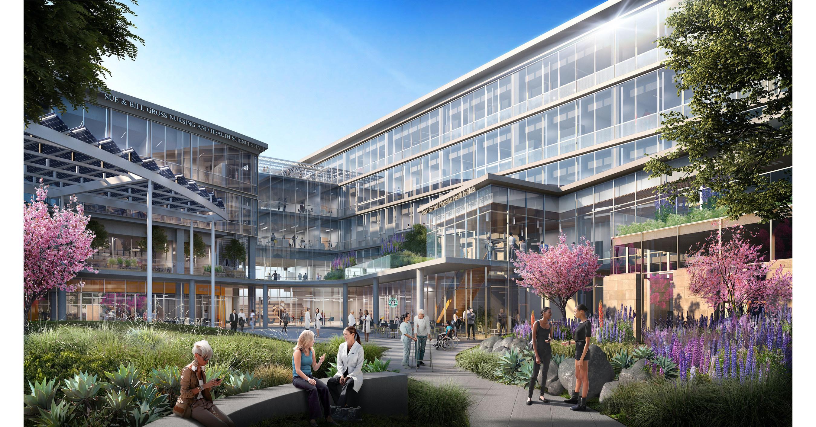 Construction Begins On Uc Irvine S New