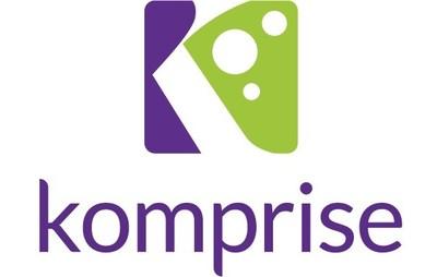 Komprise logo (PRNewsfoto/Komprise)