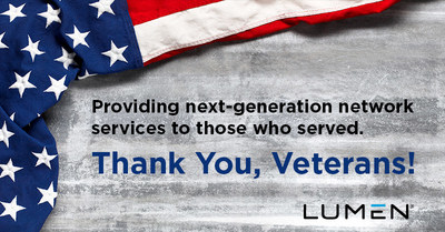 Providing next-generation network services to those who served.  Thank You, Veterans!