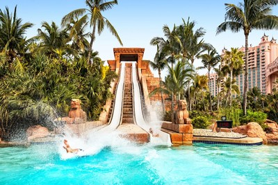 Challenger Slides at Aquaventure