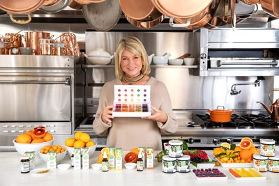 Martha Stewart has launched a Special Edition CBD Gummy Wellness Sampler for the holidays. (CNW Group/Canopy Growth Corporation)