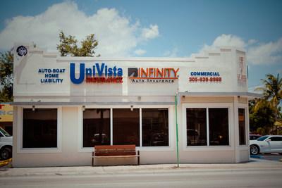Con más de una década de operaciones en Florida, UniVista Insurance es una agencia de seguros independiente operada y de propiedad familiar con 151 ubicaciones en el sur de Florida.