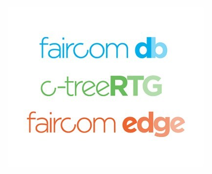 FairCom Corporation announced the release of new versions of three of its database products: FairCom DB V12 multimodel database, FairCom EDGE V3 for IoT and Industry 4.0, and c-treeRTG for legacy systems, such as COBOL. (PRNewsfoto/FairCom Corporation)