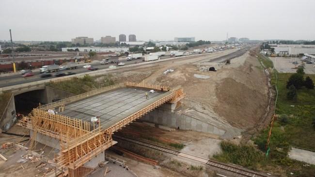 ALICE work-in-progress of major infrastructure project