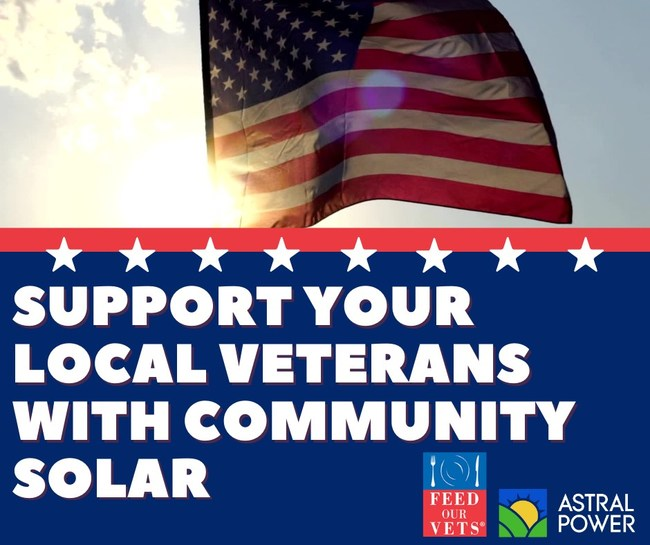 You can support your local veterans by going solar.