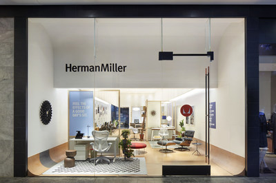 Shot of Herman Miller Store in Century City