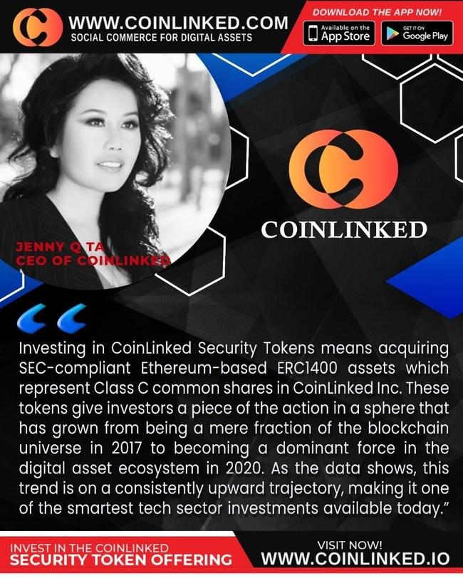 CoinLinked Security Token