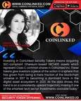 CoinLinked Slated to Become the First Regulated Security Token Issuer Listing on Australia's New U.S. FUNDSITION Platform