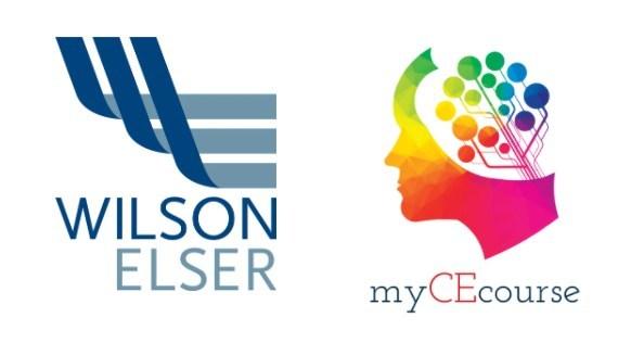 Wilson Elser and myCEcourse.com Logo
