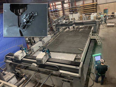Penn Stainless Products has recently installed a new Mach 700 Dynamic Waterjet System from Flow Corporation at their Quakertown facility.