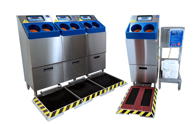CleanTech® Automated Hand washing Stations