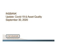 INSBANK Parent, InsCorp, Inc., Reports Quarterly Earnings