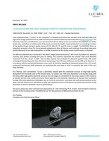 Lucara Recovers 998 Carat Diamond fom the Karowe Mine in Botswana (CNW Group/Lucara Diamond Corp.)