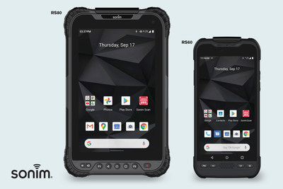 Sonim announces rugged handheld and tablet with integrated barcode scanners to better serve industrial, field service and public safety workers in demanding work environments