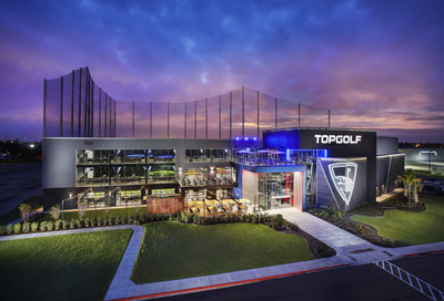 The venue slated to open in Oberhausen, Germany will be a multi-story venue similar to this Topgolf design in the U.S.