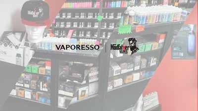 VAPORESSO Sponsored 'Modfather Vapes' Host East Lancashire Hospice Charity Night