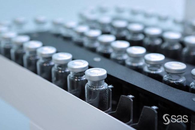 SAS health analytics drive modernization of clinical trials, reducing vaccine development timelines and ensuring regulatory compliance.