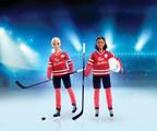 TimHortons®和Barbie®团队激励女孩扮演曲棍球