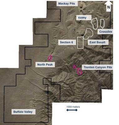 Marigold Property Boundaries (CNW Group/SSR Mining Inc.)