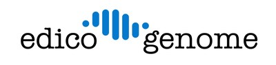 Edico Genome's logo (PRNewsFoto/Edico Genome)