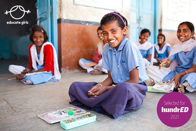 Educate Girls among the world's 100 most inspiring innovations in K12 education