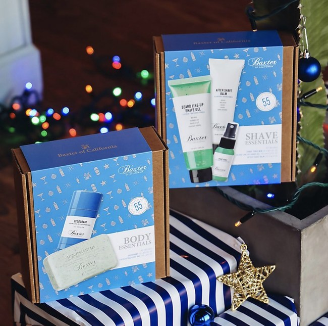 Baxter Of California Launches One Stop Holiday Shop For All Men S Grooming Gifting Needs