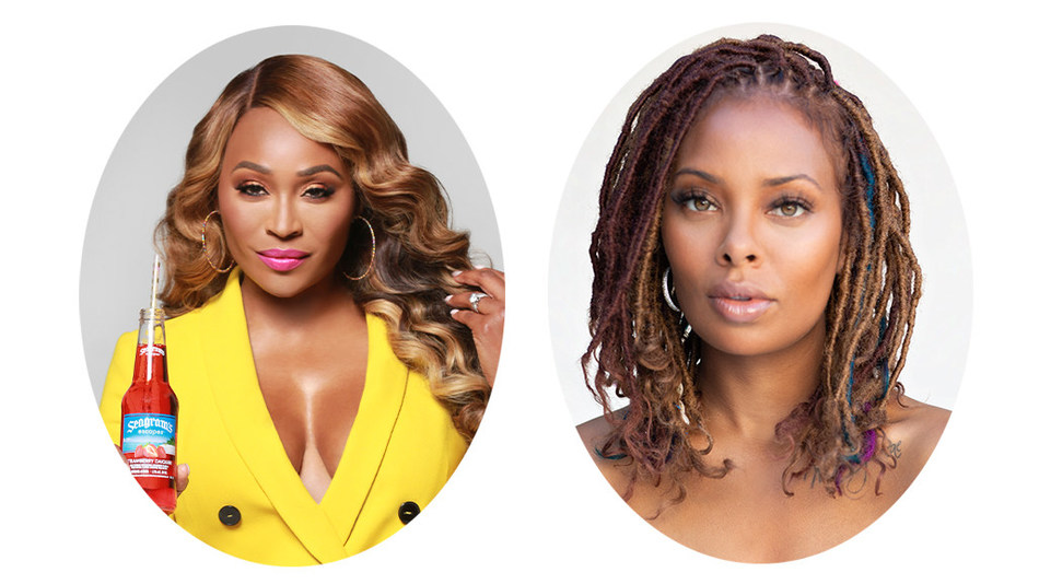 Celebrity spokesperson Cynthia Bailey, who helped create Seagram's Escapes Peach Bellini flavor, along with reality TV star and businesswoman, Eva Marcille, have teamed up for the program.