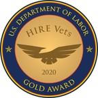 RRDS Inc Receives 2020 HIRE Vets Medallion Award From U.S....