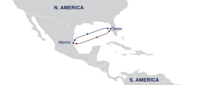 ZIM to Launch a new Mexico - Tampa Shuttle Service in December (PRNewsfoto/ZIM Integrated Shipping Services Ltd.)