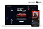 Hyundai and Spotify Release Digital My City Unlocked Local Experiences