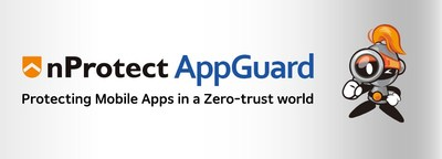 nProtect AppGuard is an Application Shielding solution. Protecting Mobile apps against cheaters. (PRNewsfoto/INCA Internet Co. Ltd.)