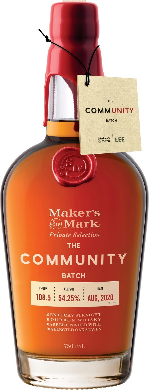 The Lee Initiative Partners With Maker S Mark To Release Community Batch Bourbon With 100 Of Proceeds Supporting The Hospitality Industry