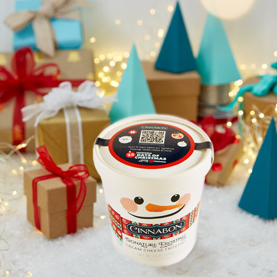 Cinnabon is offering its Signature Cream Cheese Frosting in a limited-edition pint for the first time ever, bringing the Cinnabon warmth to classic holiday recipes and gatherings. Fans can scan the QR code available on all pint lids to find recipes, videos, and tips to enhance holiday creations. The limited-edition Signature Cream Cheese Frosting pints are available at Cinnabon mall bakeries nationwide and on food delivery providers.
