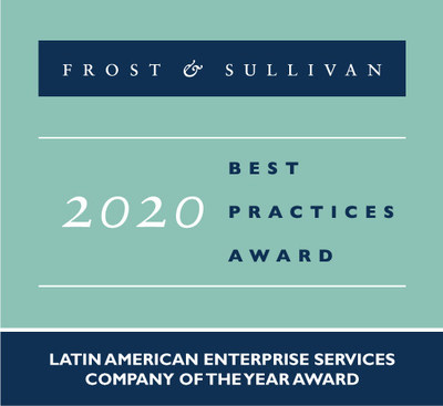 Frost & Sullivan Recognizes Lumen with the 2020 Latin America Enterprise Services Company of the Year Award