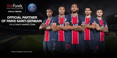 HotForex is an Official Partner of Paris Saint-Germain! (PRNewsfoto/HotForex)