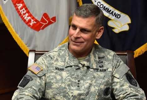 Retired U.S. Army Lieutenant General David Mann, Vice President, Strategy, Army Systems and Defense Programs at PredaSAR