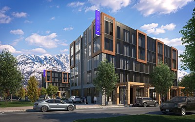 Wyndham Hotels & Resorts has announced plans to introduce its TRYP by Wyndham brand to New Zealand with the development of two new hotels: the 212-room TRYP by Wyndham Remarkables Park Queenstown and the 76-room TRYP by Wyndham Tory Street Wellington. Above, the TRYP by Wyndham Remarkables Park Queenstown.