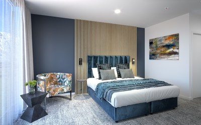 Expected to start construction in late 2021 with plans to open in 2023, TRYP by Wyndham Remarkables Park Queenstown will feature a collection of 212 contemporary guestrooms and serviced apartments boasting panoramic views of the mountains and ski slopes.