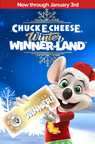 Chuck E. Cheese Debuts All-New Winter Winner-Land Celebration Delivering Holiday Magic To Families In Store, At Home And Online