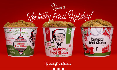 KFC's new holiday buckets, available in all U.S. restaurants beginning November 24, are bringing back a sense of a nostalgia and familiarity to a holiday season unlike any other.