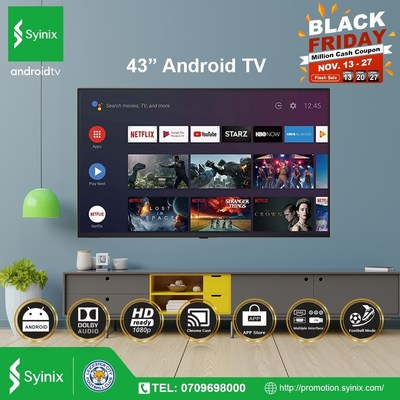 Syinix Electronics Technology Ltd Announces Extended Black Friday Campaign in its Syinix Mall